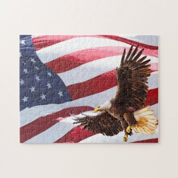 American Eagle Patriotic Puzzles For Adults
