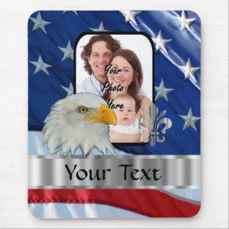 American Eagle patriótico Alfombrilla De Raton