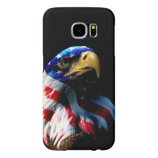 American Eagle patriótico Fundas Samsung Galaxy S6