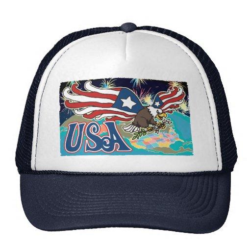 American Eagle patriótico Gorros