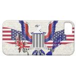American Eagle patriótico iPhone 5 Carcasas