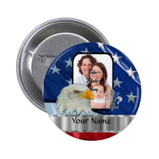 American Eagle patriótico Pins