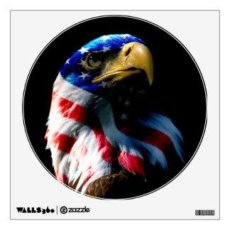 American Eagle patriótico Vinilo Decorativo