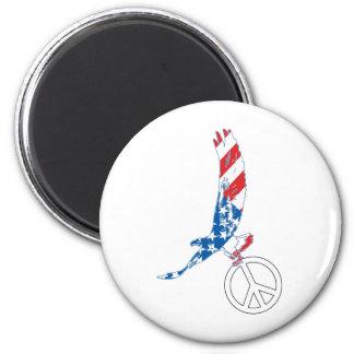 American Eagle - paz Imán Para Frigorífico