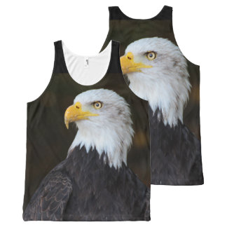 American Eagle Photography Print All-Over-Print Tank Top