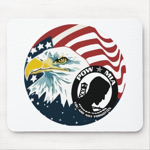 American Eagle POW-MIA Tapetes De Raton