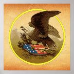 American Eagle Print
