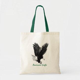 American Eagle que dibuja el bolso de la lona Bolsa Tela Barata