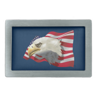 American Eagle Rect Belt Buckle