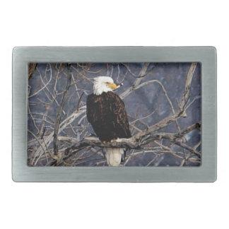 American Eagle Rectangular Belt Buckle