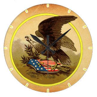 American Eagle Reloj Redondo Grande