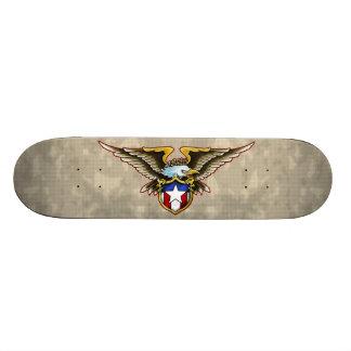 American Eagle Shield Design Skateboard Deck