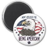 American Eagle simbólico Iman Para Frigorífico