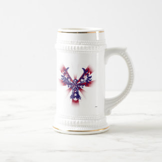 American Eagle Stars & Stripes Beer Stein