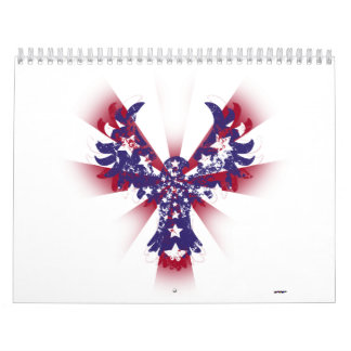 American Eagle Stars & Stripes Calendar