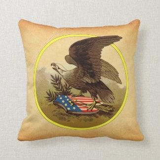 American Eagle Throw Pillow