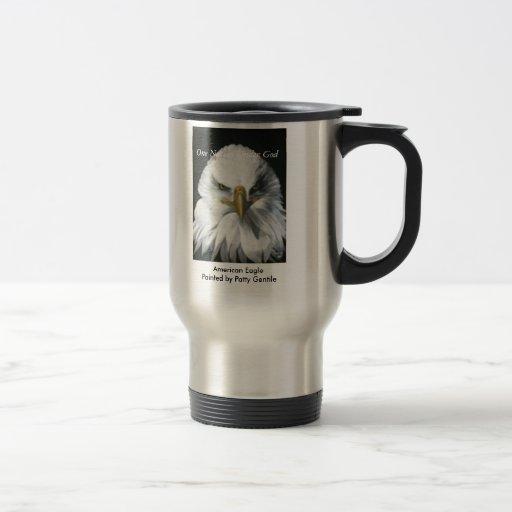 American Eagle Travel Mug