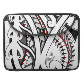 American eagle tribal tattoo design red sleeve for MacBook pro