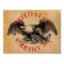 American Eagle: United States of America Postcard