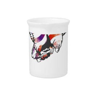 American Eagle USA National Flag Independence Memo Beverage Pitcher