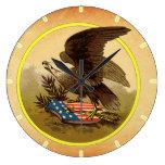 American Eagle Wallclock