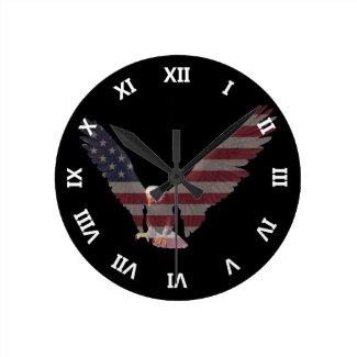 American Eagle Wallclocks