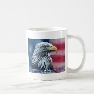 American Eagle Weeps for Country Mugs