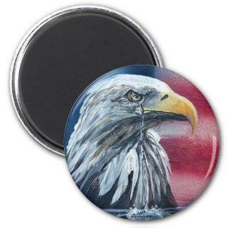 American Eagle Weeps Magnet