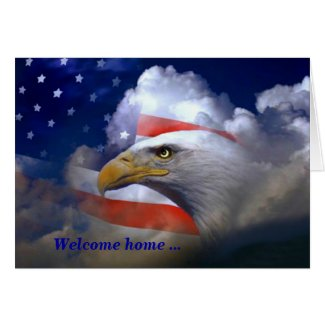 Forever prouds red white and blue welcome home and thank you for forever prouds red white and blue welcome home and thank you for your service military greeting cards from zazzle m4hsunfo