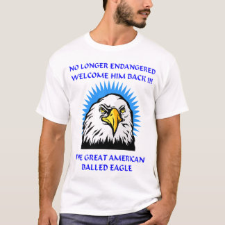 AMERICAN EAGLE with BALLS T-Shirt