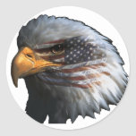 American Eagle with Flag Stickers