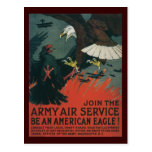 American Eagle World War 2 Postcard