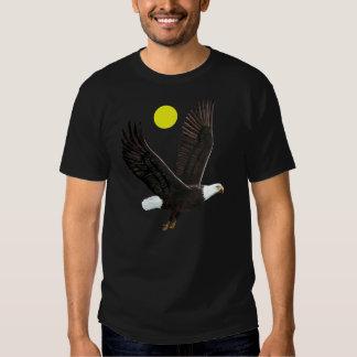 American Eagle y camiseta de la luna Polera