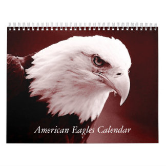 American Eagles 2018 Calendar - Birds & Animals