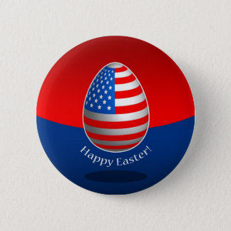 American Easter Button