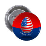 American Easter Pinback Buttons