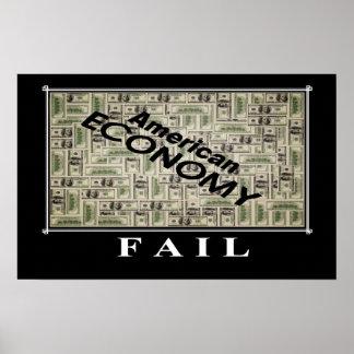 american economy fail print
