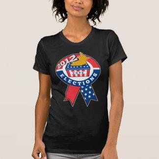 American election ballot box map of USA ribbon 201 T-shirts