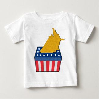 American election ballot box map of USA Tee Shirts