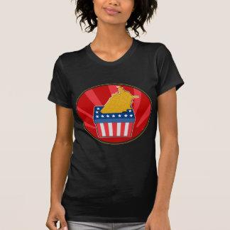 American election ballot box map of USA Tshirt