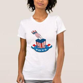 American Election Voting Ballot Box Retro T Shirt