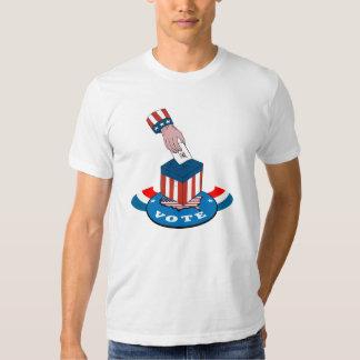 American Election Voting Ballot Box Retro T Shirts
