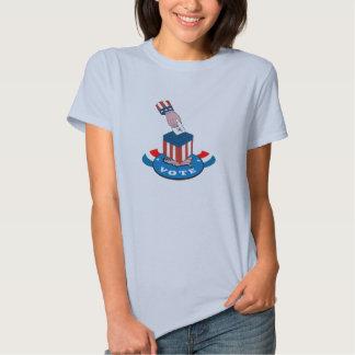 American Election Voting Ballot Box Retro Tee Shirts