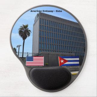 American Embassy Havana Cuba Gel Mouse Pad