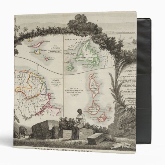 American empire 3 ring binder