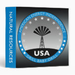 American Energy Independence 3 Ring Binder