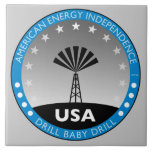 American Energy Independence Ceramic Tiles