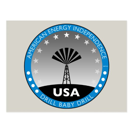 American Energy Independence Postcard