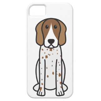 American English Coonhound Dog Cartoon iPhone 5 Cases