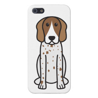 American English Coonhound Dog Cartoon Case For iPhone 5
